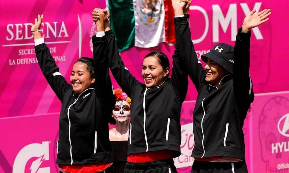 Arqueras Mexicanas Aída Román, Alejandra Valencia y Mariana Avitia en Mundial de Tiro con Arco