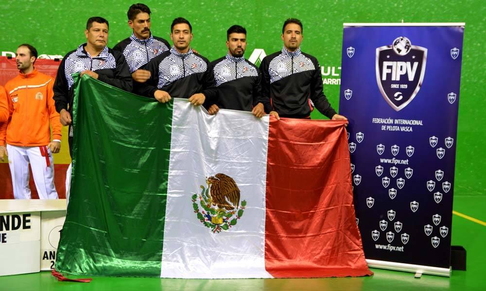Delegación mexicana en Copa del Mundo de Frontón, Francia